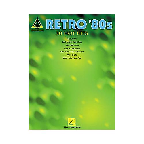 Hal Leonard Retro '80s Guitar Tab Book-thumbnail