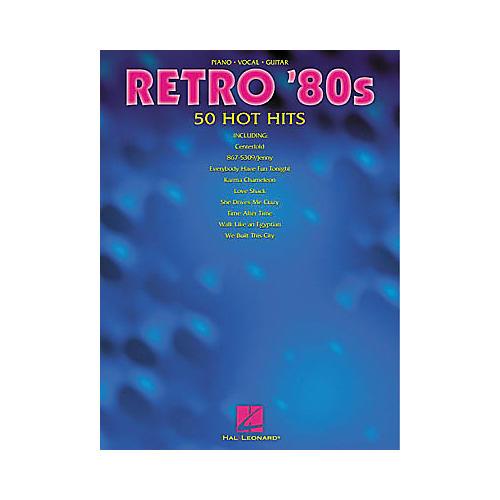 Hal Leonard Retro '80s Piano/Vocal/Guitar Songbook