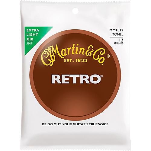 Martin Retro Acoustic 12 String Guitar Set Extra Light Gauge-thumbnail