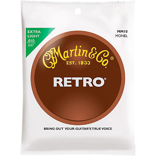 martin retro acoustic guitar strings extra light gauge musician 39 s friend. Black Bedroom Furniture Sets. Home Design Ideas