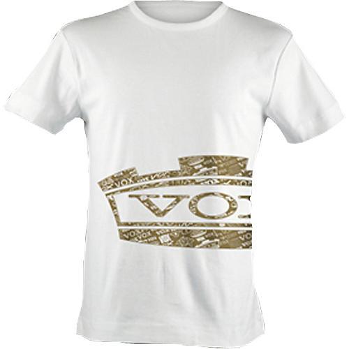 Vox Retro Gold Crown Logo T-shirt