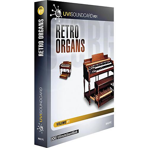 Ultimate Sound Bank Retro Organs UVI Soundcard