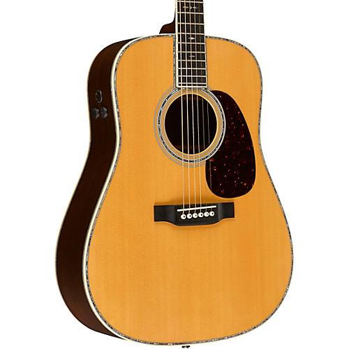 Martin Retro Series D-45E Dreadnought Acoustic-Electric Guitar-thumbnail