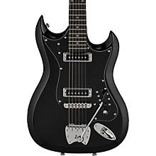 Hagstrom Retroscape Series H-II Electric Guitar Gloss Black