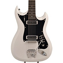 Hagstrom Retroscape Series H-II Electric Guitar Gloss White