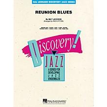 Hal Leonard Reunion Blues Jazz Band Level 1.5 by Oscar Peterson Arranged by Rick Stitzel