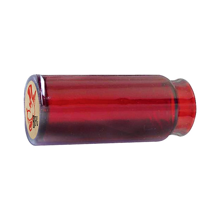 Dunlop Reverend Willy's Blues Bottle Mo-Jo Guitar Slide - Red Glass Medium