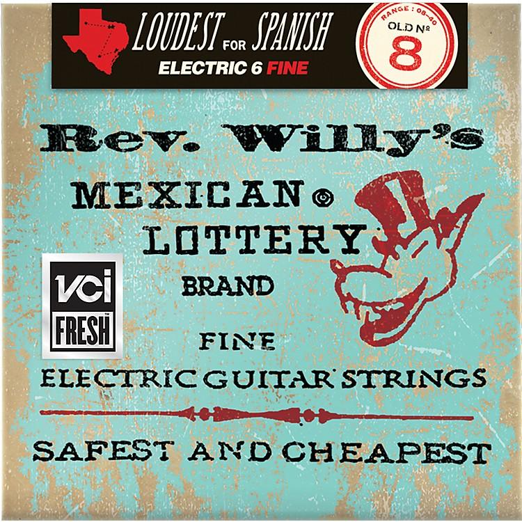 DunlopReverend Willy's Electric Guitar String Set - Light