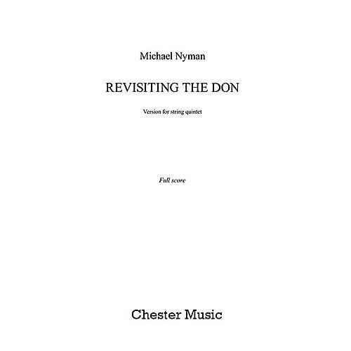 Chester Music Revisiting the Don (String Quintet - Score) Music Sales America Series Softcover by Michael Nyman-thumbnail