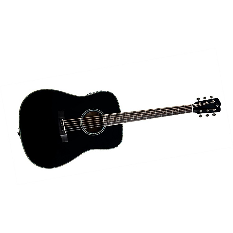Breedlove Revival Black Magic D/SMe Acoustic-Electric Guitar