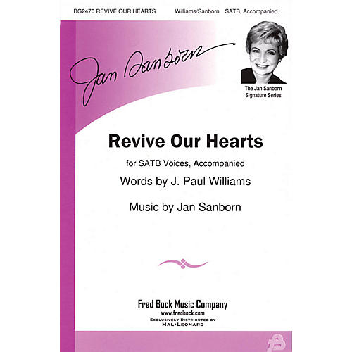 Fred Bock Music Revive Our Hearts SATB composed by J. Paul Williams-thumbnail