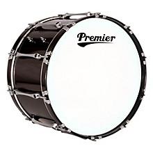 Premier Revolution Bass Drum 22 x 14 in. Ebony Black Lacquer