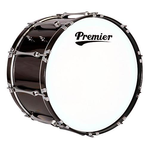 Premier Revolution Bass Drum 24 x 14 in. Ebony Black Lacquer