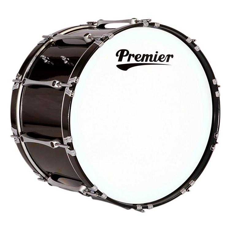 PremierRevolution Bass Drum32x14 InchEbony Black Lacquer