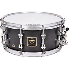 GMS Revolution Maple/Steel Snare Drum 14 x 5.5 Walnut Burst