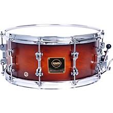 GMS Revolution Maple/Steel Snare Drum 14 x 6.5 in. Walnut Burst