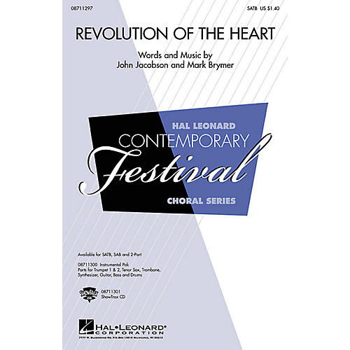 Hal Leonard Revolution of the Heart Combo Parts Composed by John Jacobson-thumbnail