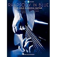 Hal Leonard Rhapsody In Blue For Solo Classical Guitar Book/CD