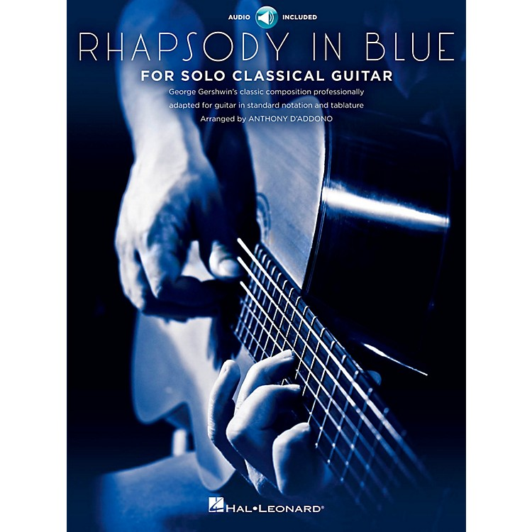 Hal LeonardRhapsody In Blue For Solo Classical Guitar Book/CD