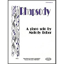 Willis Music Rhapsody Mid-Intermediate Piano Solo by Melody Bober