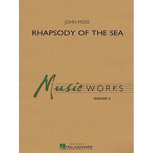 Hal Leonard Rhapsody of the Sea Concert Band Level 2-thumbnail