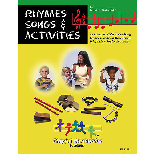 Hohner Rhymes, Songs and Activities Book-thumbnail