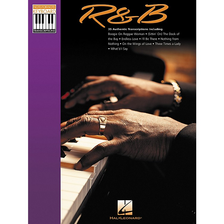 Hal LeonardRhythm & Blues Note for Note Keyboard Songbook