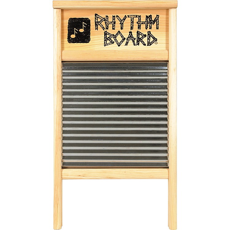 Columbus Washboard Rhythm Board Pine 12-7/16