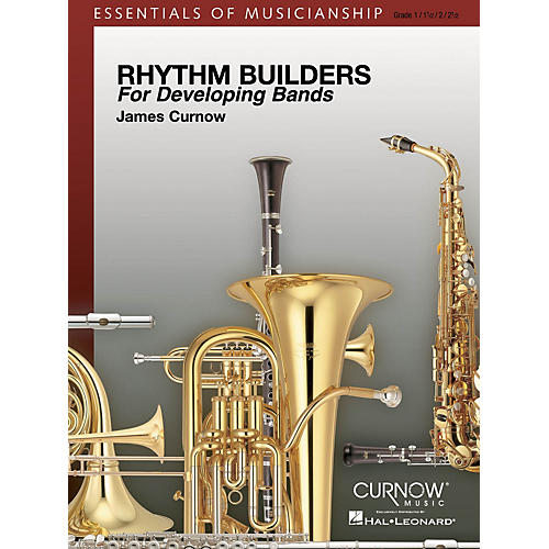 Curnow Music Rhythm Builders for Developing Bands Concert Band Level 1-2 Composed by James Curnow-thumbnail