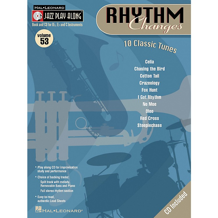 Hal Leonard Rhythm Changes Volume 53 Jazz Play-Along Series Book with CD)