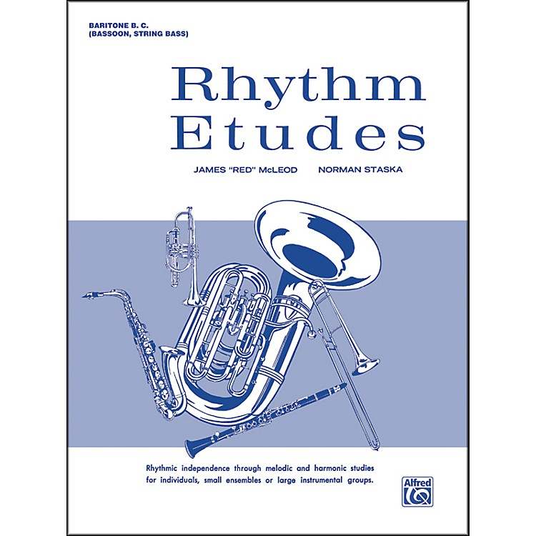 AlfredRhythm Etudes Baritone B.C. (Bassoon String Bass)