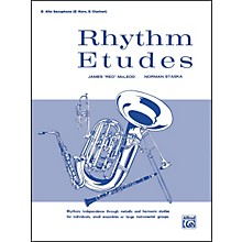 Alfred Rhythm Etudes E-Flat Alto Saxophone (E-Flat Horn E-Flat Clarinet)