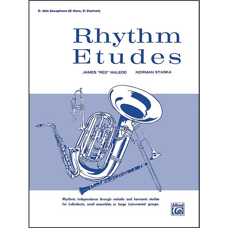 AlfredRhythm Etudes E-Flat Alto Saxophone (E-Flat Horn E-Flat Clarinet)