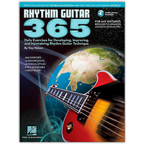 Hal Leonard Rhythm Guitar 365 - Daily Exercises Book/CD