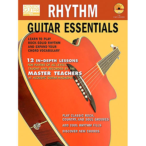 Hal Leonard Rhythm Guitar Essentials (Book/CD)
