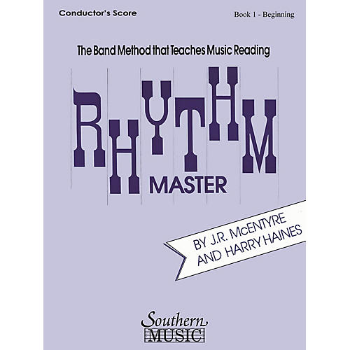Southern Rhythm Master - Book 1 (Beginner) (Clarinet/Bass Clarinet) Southern Music Series Composed by Harry Haines-thumbnail