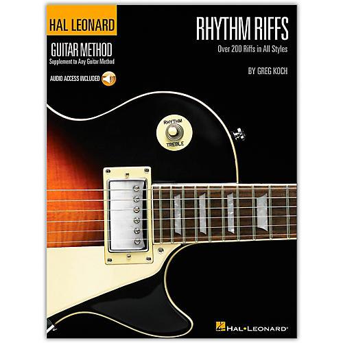 Hal Leonard Rhythm Riffs (Book/Online Audio)-thumbnail