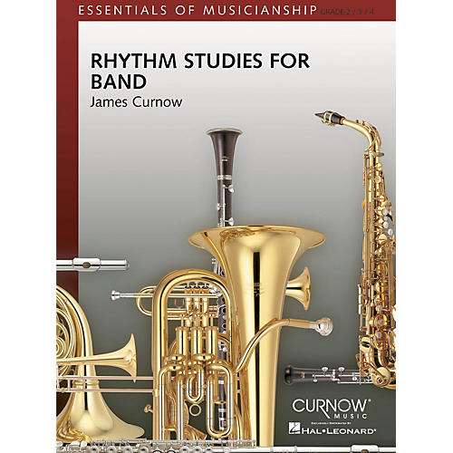 Curnow Music Rhythm Studies for Band (Grade 2 to 4 - Score Only) Concert Band Level 2-4 Composed by James Curnow-thumbnail