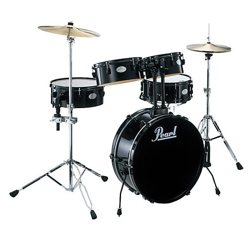 Pearl Rhythm Traveler Compact Drum Kit with Cymbals and Hardware-thumbnail