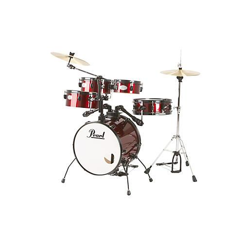 Pearl Rhythm Traveler Drum Set with Cymbals & Hardware