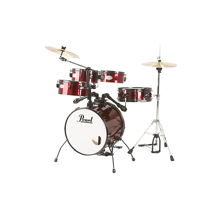 Pearl Rhythm Traveler Drum Set with Cymbals & Hardware