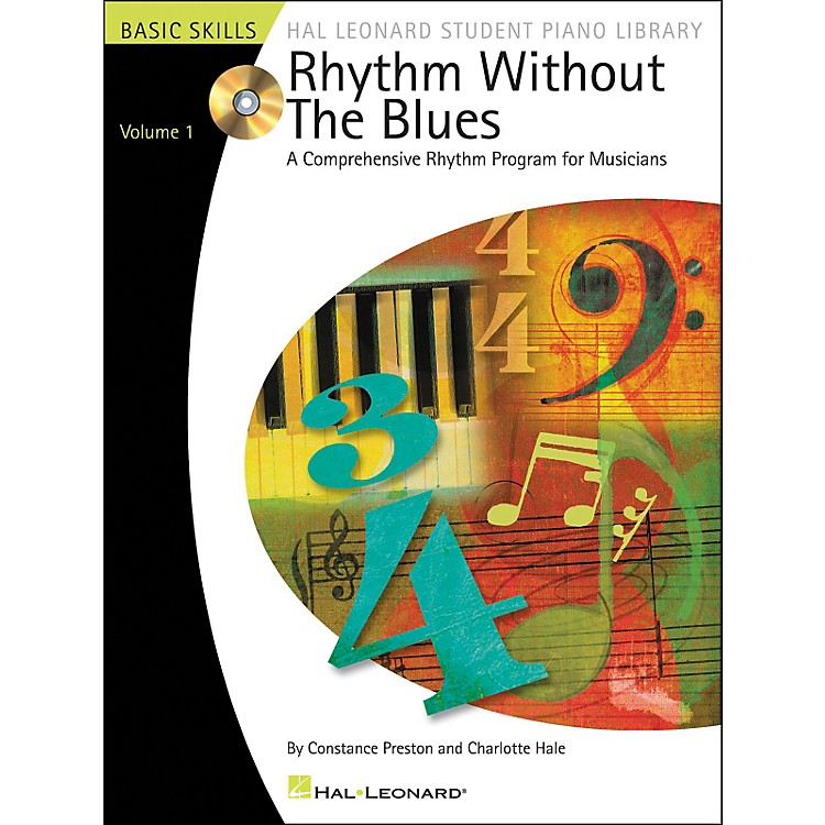 Hal Leonard Rhythm Without The Blues Book/CD Volume 1 Hal Leonard Student Piano Library