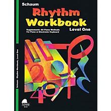 SCHAUM Rhythm Workbook (Level 1) Educational Piano Book by Wesley Schaum (Level Late Elem)