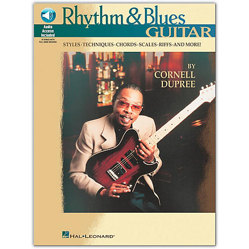 Hal Leonard Rhythm and Blues Guitar (Book/CD)