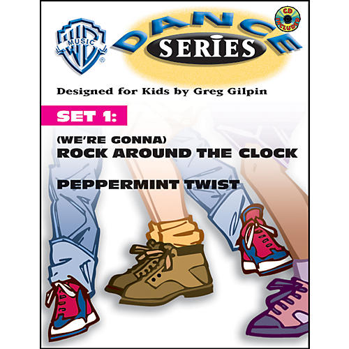 Alfred Rhythm and Movement WB Dance Series Set 1: (We're Gonna) Rock Around the Clock and Peppermint Twist Book & CD Lyric/Choreography Pack-thumbnail
