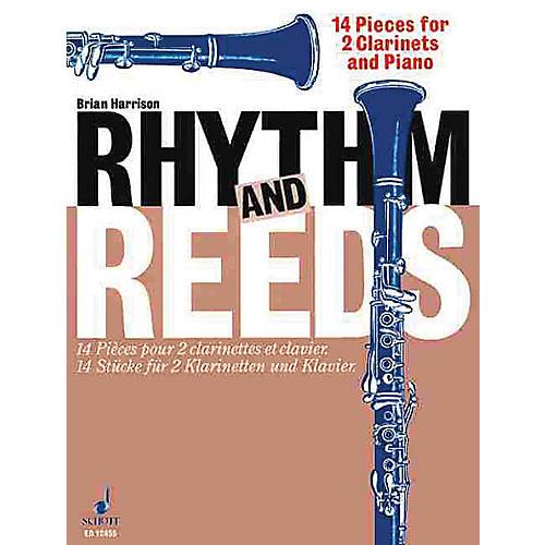 Schott Rhythm and Reeds (14 Pieces) Schott Series Composed by Brian Harrison