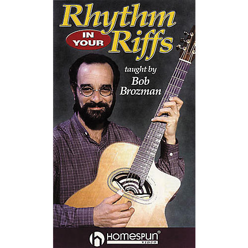 Homespun Rhythm in Your Riffs - Strums, Patterns and Grooves for Acoustic Guitar (VHS)-thumbnail