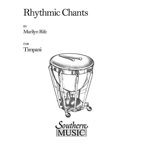 Hal Leonard Rhythmic Chants (Percussion Music/Timpani - Other Musi) Southern Music Series Composed by Rife, Marilyn-thumbnail