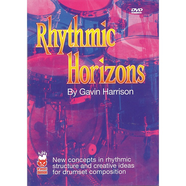 Hudson Music Rhythmic Horizons by Gavin Harrison DVD