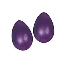 LP Rhythmix Plastic Egg Shakers (Pair) Grape